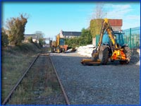 working at claremorris station