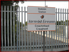 Craughwell Railway Station, County Galway