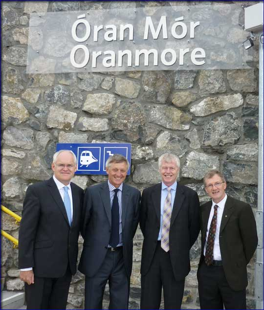 West on Track welcomes opening of Oranmore Railway Station in County Galway.